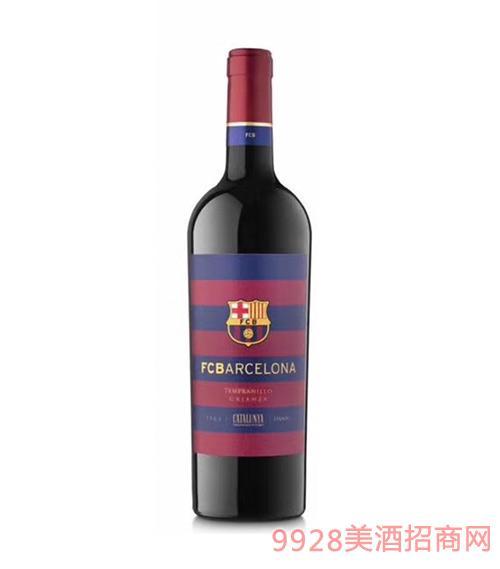 巴塞罗那足球俱乐部佳酿红葡萄酒