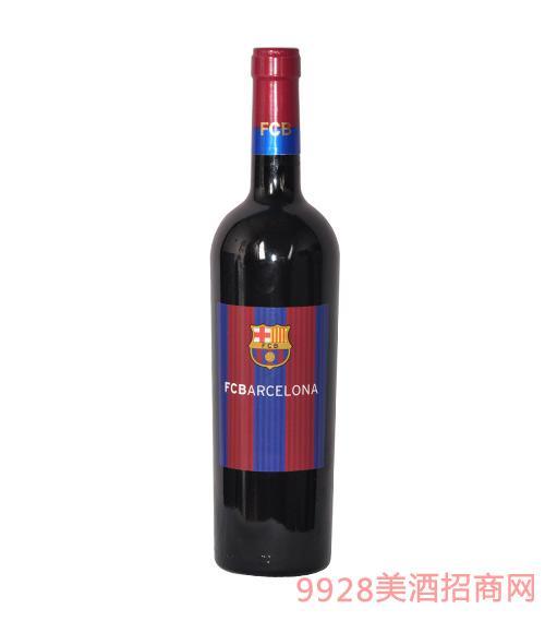 巴塞罗那足球俱乐部精选红葡萄酒
