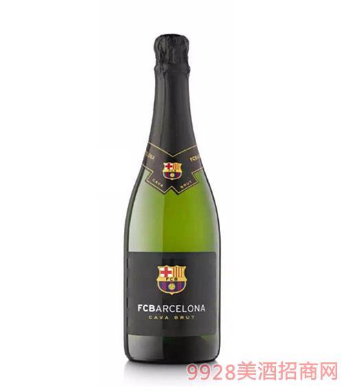 巴塞罗那足球俱乐部卡瓦起泡葡萄酒