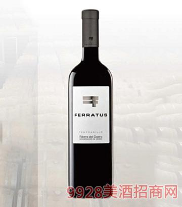 西班牙非拉图斯干红葡萄酒2010-14度750ml