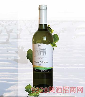 西班牙阿尔卡拉门白葡萄酒10.5度750ml