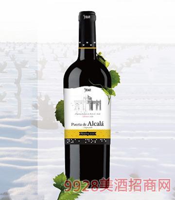 西班牙阿尔卡拉门干红葡萄酒14度750ml