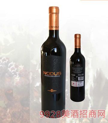 西班牙努都斯干红葡萄酒14度750ml