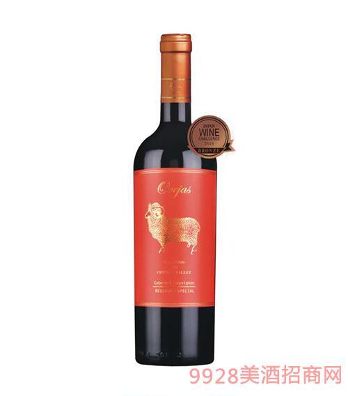 智利金羊赤霞珠特酿红葡萄酒
