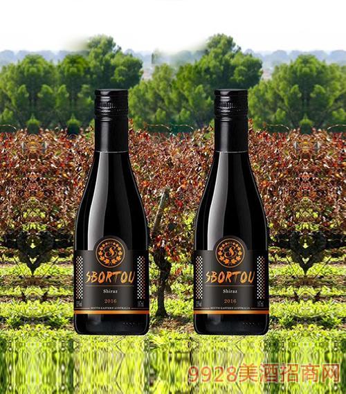 澳洲斯博图西拉干红葡萄酒