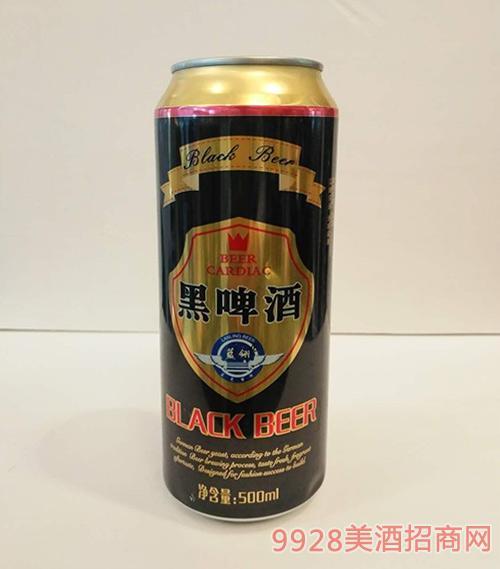 蓝翎黑啤酒500ml