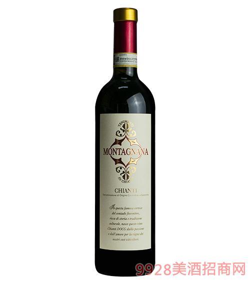基安蒂蒙塔尼亚干红葡萄酒