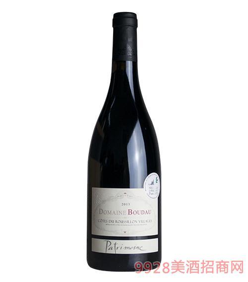 宝豆珍传干红葡萄酒