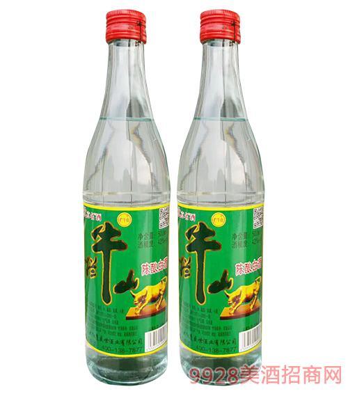 牛二爷陈酿白酒42度500ml