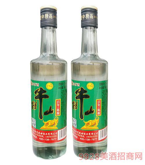 拦牛山百年陈酿酒42度500ml