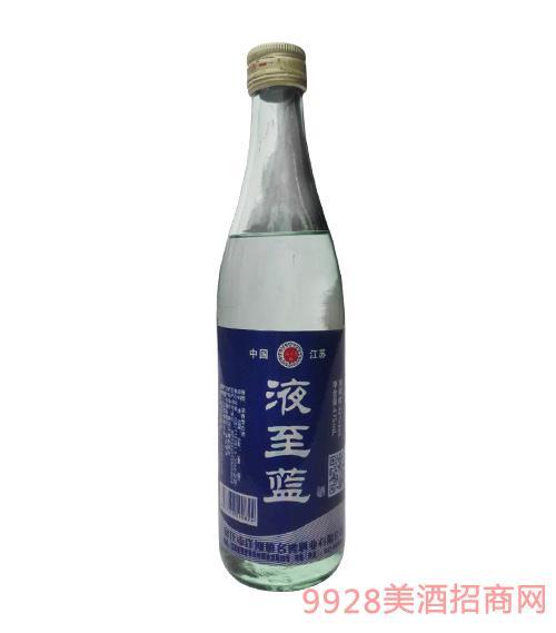 液至蓝酒光瓶浓香型42度475ml