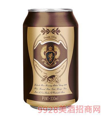 科�_拉啤酒罐�b330ml金
