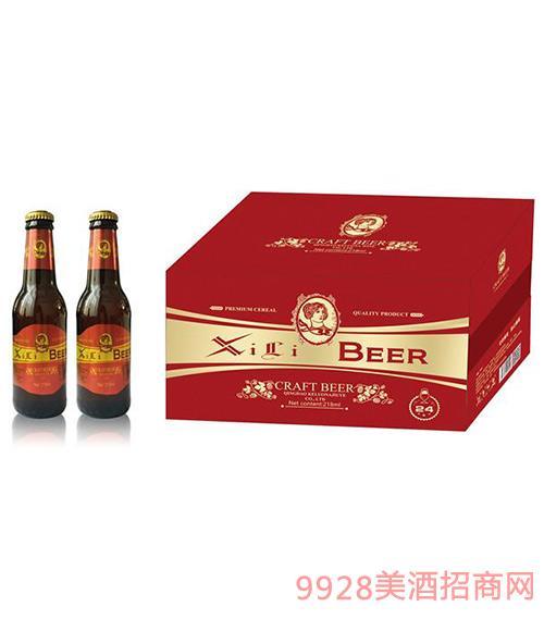 喜丽精酿啤酒218mlX24