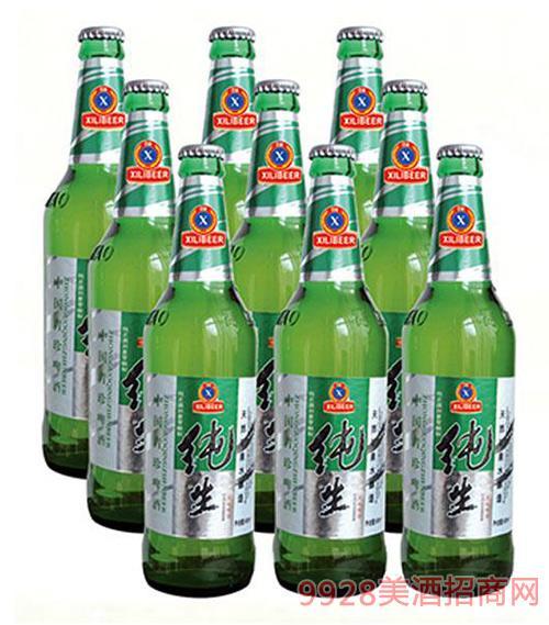 纯生喜丽啤酒500ml×9瓶