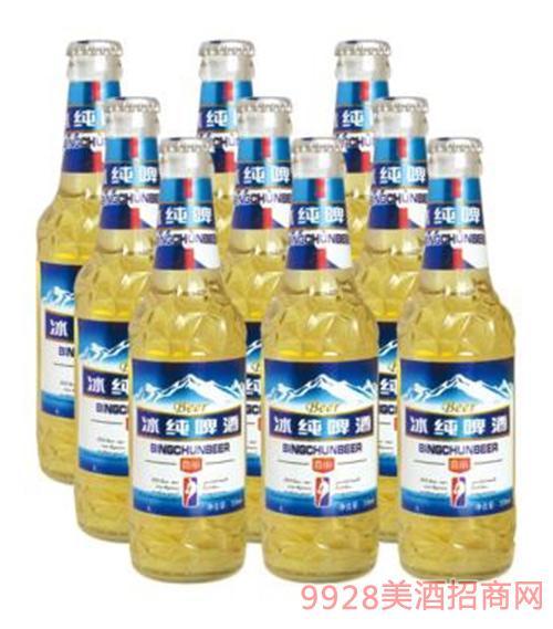 喜丽冰纯啤酒500ml×9瓶
