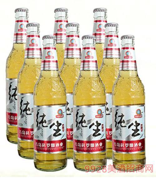 喜丽纯生啤酒500ml×9瓶