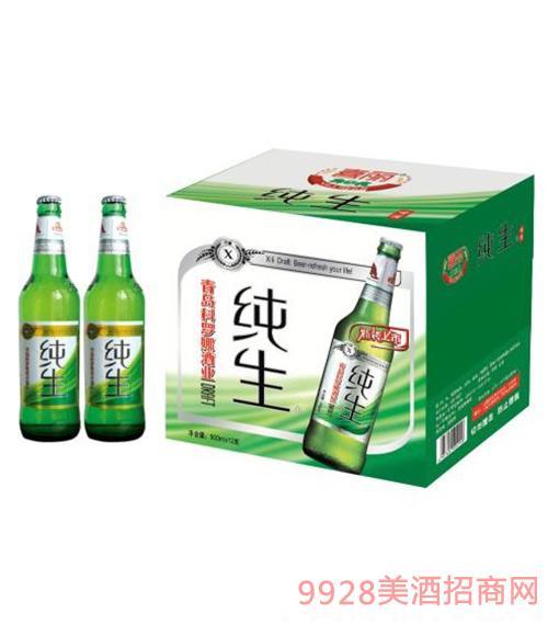 喜丽纯生科罗娜啤酒500ml