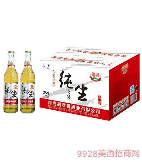 纯生喜丽啤酒330ml