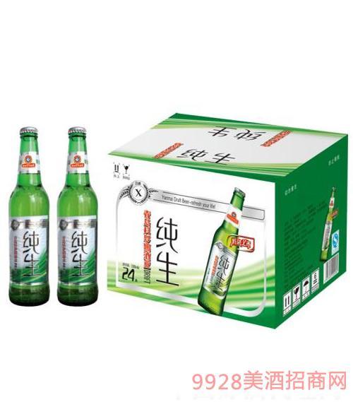 喜丽纯生X啤酒330ml
