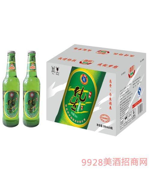 喜丽纯生啤酒330ml