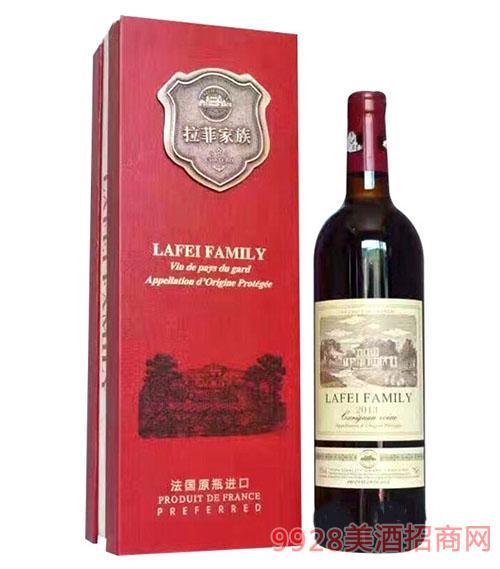 法国拉菲家族干红葡萄酒2013