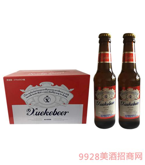 275毫升哈尔滨雪客啤酒