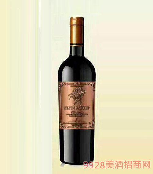 法国菲扬干红葡萄酒(铜标)14.5度750ml