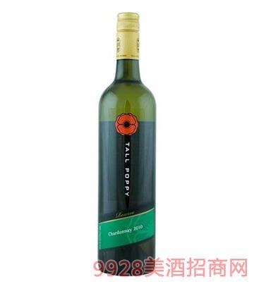 罂粟花珍藏霞多丽干白葡萄酒