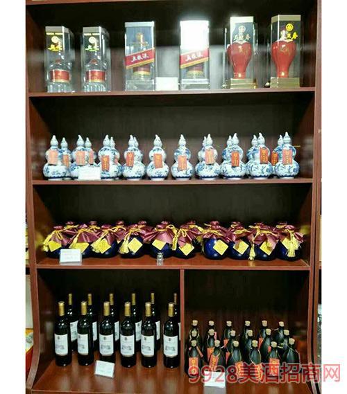十善芳香原浆酒庄加盟店产品展示