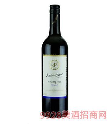 皮士大师梅乐干红葡萄酒