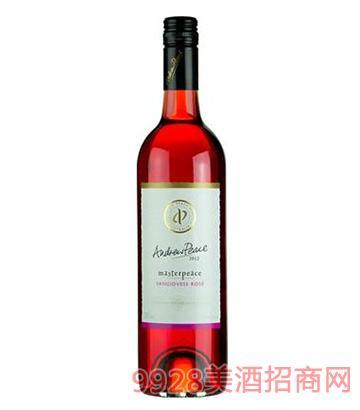 皮士大师桑娇维塞玫瑰红酒