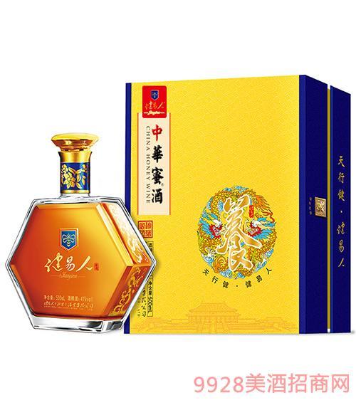 健易人中华蜜酒飞龙新标41度500ml
