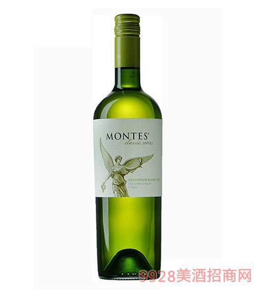 智利蒙特斯经典长相思干白葡萄酒