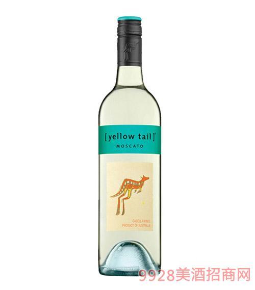 黄尾袋鼠莫斯卡托甜白葡萄酒