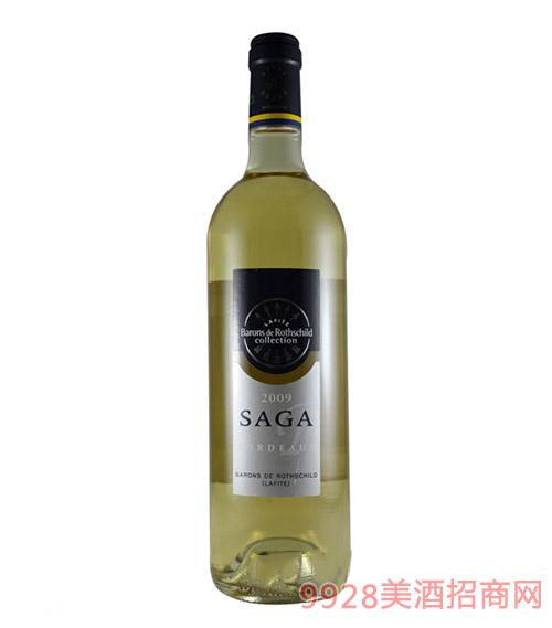 2009拉菲传说波尔多干白葡萄酒