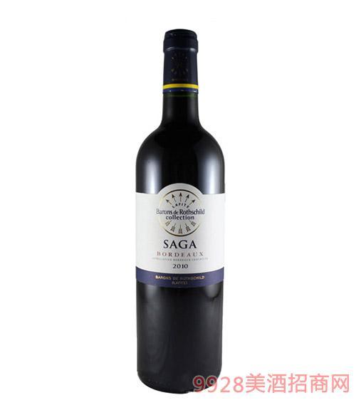 2010拉菲传说波尔多干红葡萄酒