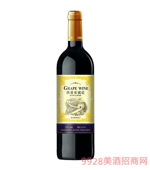 精装长城红干红葡萄酒750ml