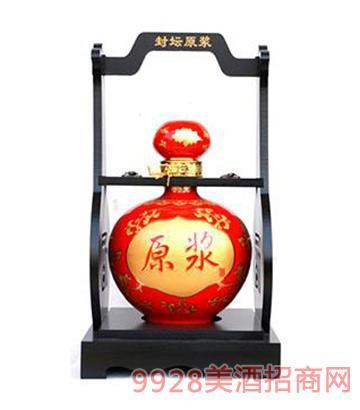 古水坊5斤红坛原浆酒