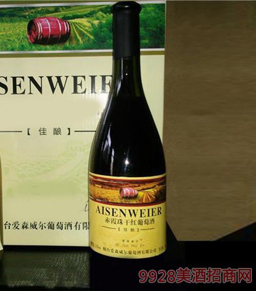 爱森威尔赤霞珠干红葡萄酒