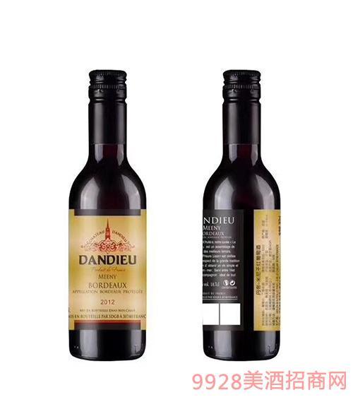 法国丹帝酒庄米尼(金)干红葡萄酒