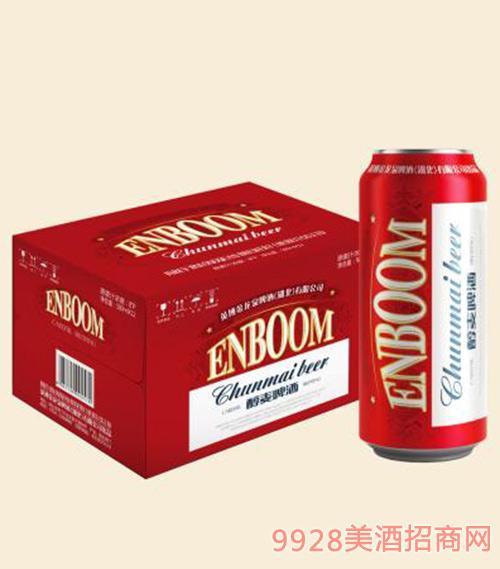 英宝醇麦啤酒500ml×12瓶