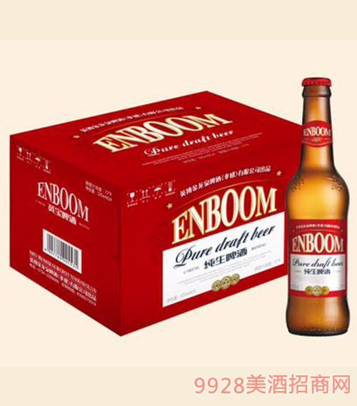 英宝纯生啤酒325ml×24瓶