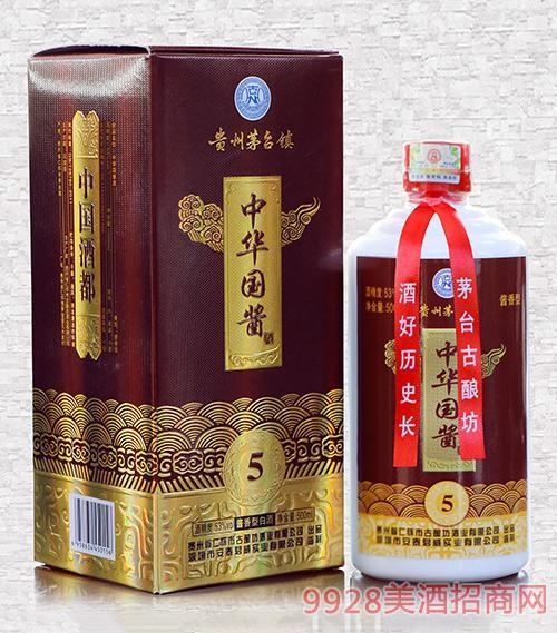 中华国酱酒(5)53度500ml酱香型白酒