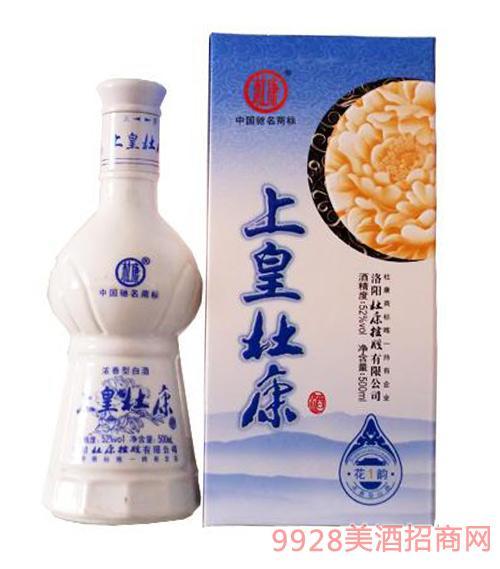 上皇杜康酒花韵1浓香型52度500ml