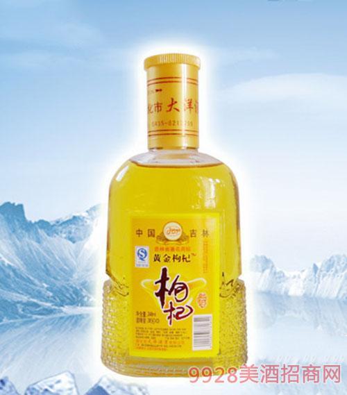 黄金枸杞酒-(360ML)