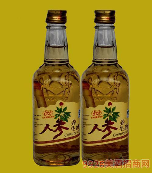 小方瓶人参养生酒-人参酒-42°246ml