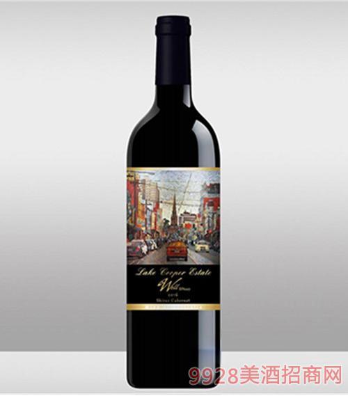澳洲威乐007色拉子赤霞珠干红葡萄酒