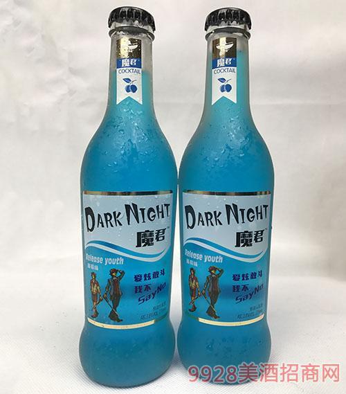 魔君鸡尾酒3.8度275ml(蓝莓味)