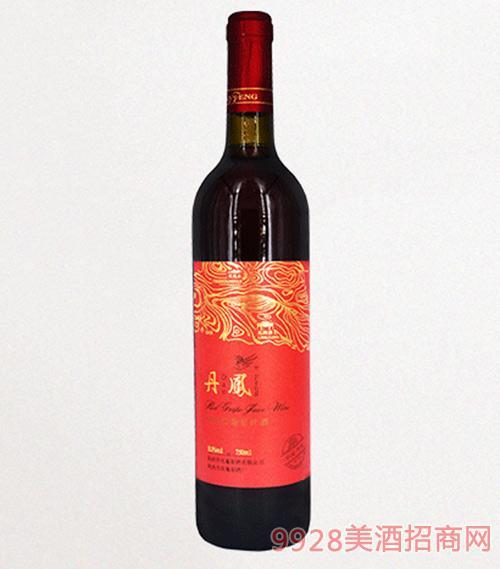 丹凤传统红标汁葡萄酒