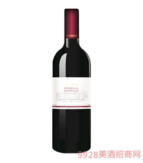 法国波尔多AOC干红葡萄酒